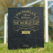 Football World Cup History - Newspaper Book